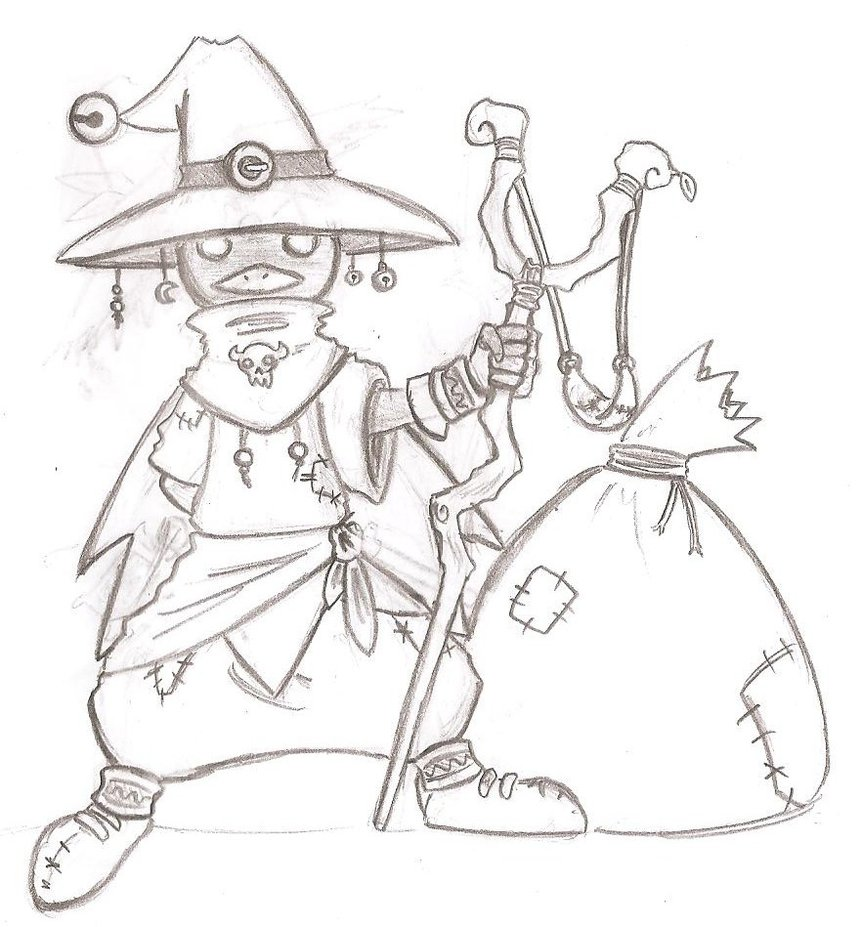 862x927 Gatz The Skull Kid Mask Collector Sketch App By Dark7hero