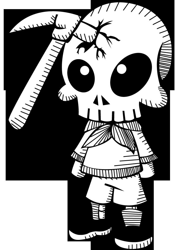 767x1014 Hammer Skull Kid By Cx Asuka