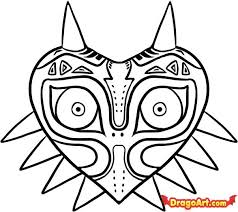 238x212 Image Result For Skull Kid Mask Drawing Coloring
