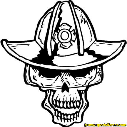 Skull On Fire Drawing at GetDrawings.com   Free for personal use ...