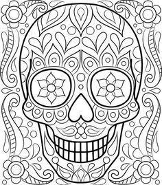Skull Sleeve Drawing at GetDrawings.com | Free for personal use ...