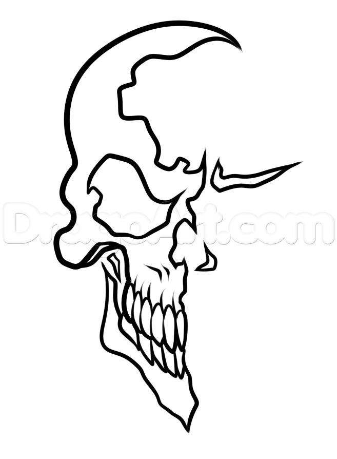 657x894 Photos How To Draw Skulls Book,