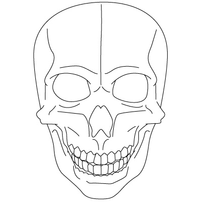 400x400 How To Draw Skulls Sugar Candy Skulls Fun Drawings