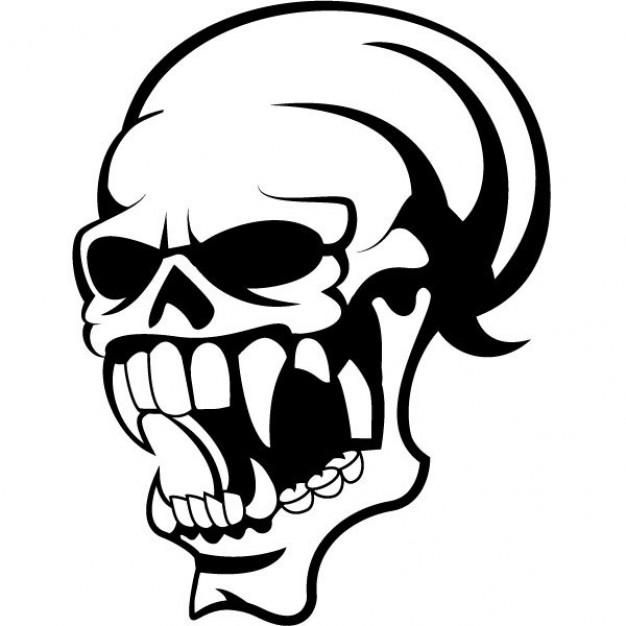 626x626 Broken Skull Cliparts