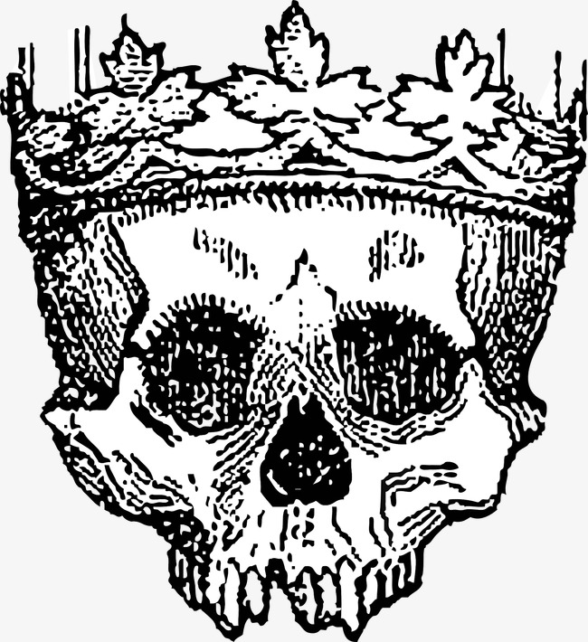 650x710 Crowned Skull, Imperial Crown, King, Skull Png Image For Free Download