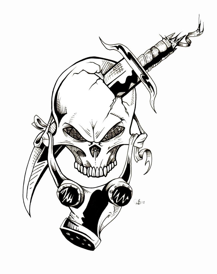 900x1138 Skull Gas Mask Graffiti Gas Maskdude Lebowski