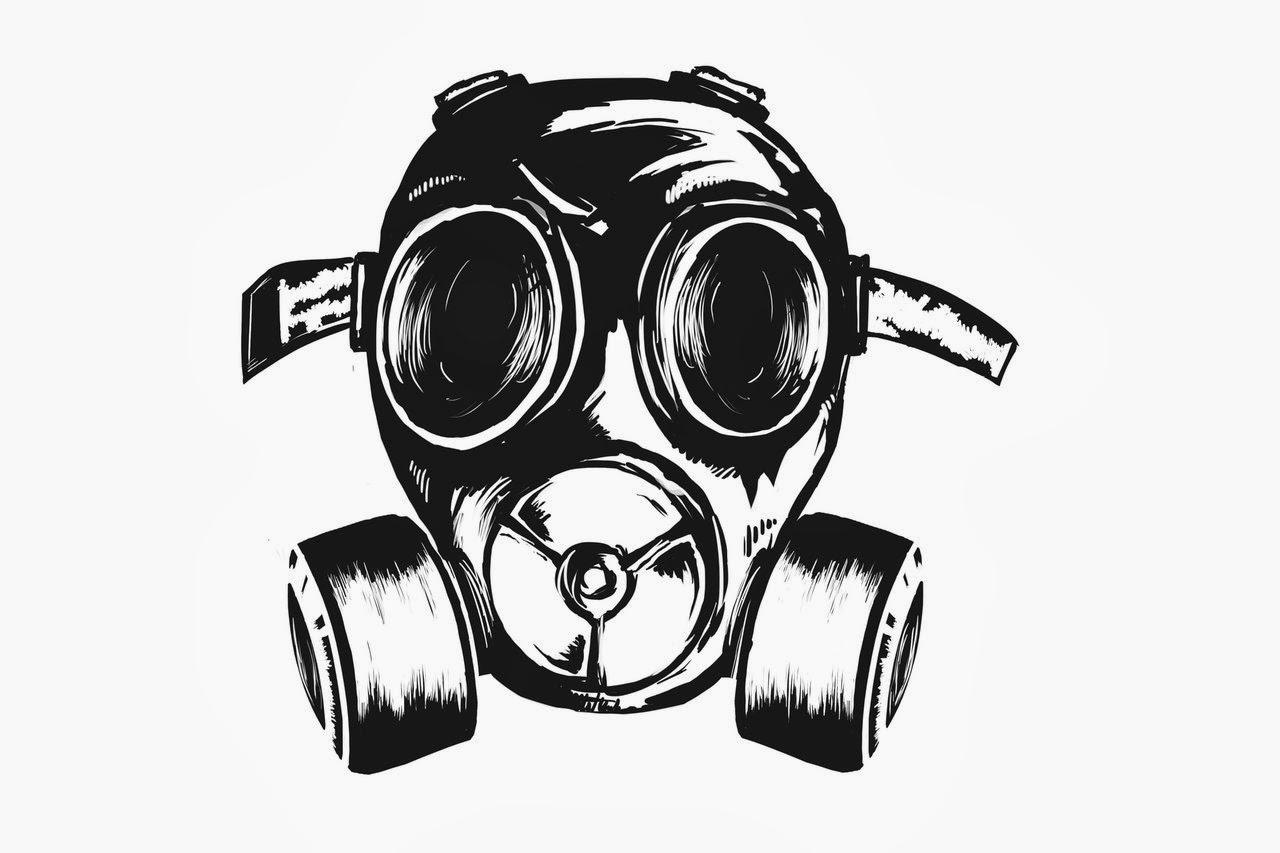 1280x853 Wizard Graffiti Characters Gas Mask Graffiti Character Gas Mask
