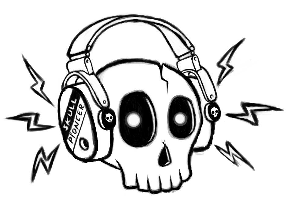 952x690 9 Best Images Of Cool Cartoon Skull Drawings