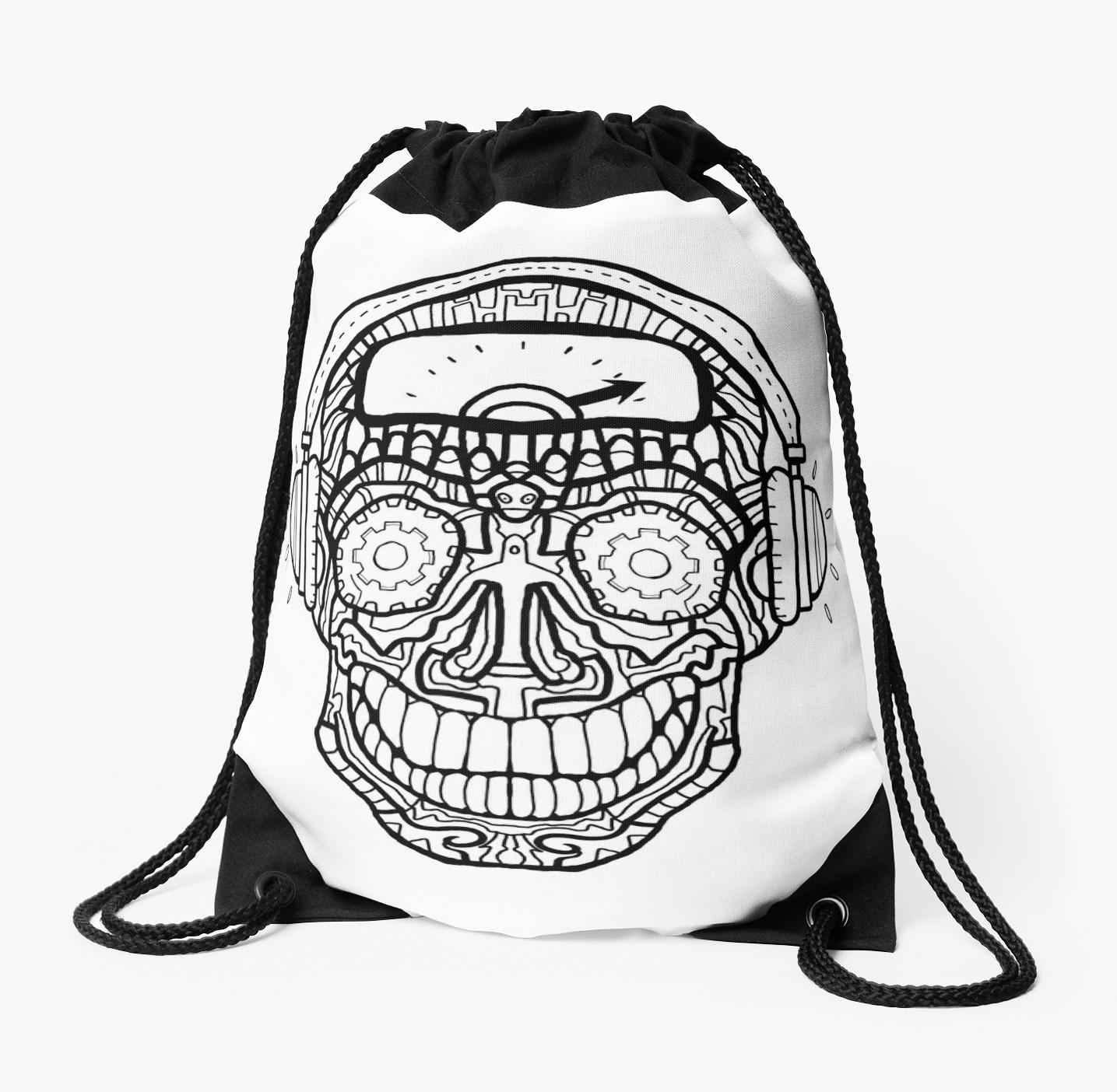 1435x1404 Sugar Skull