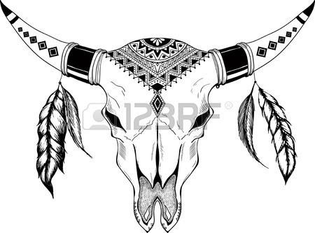 450x333 Bull Skull Stock Photos. Royalty Free Business Images