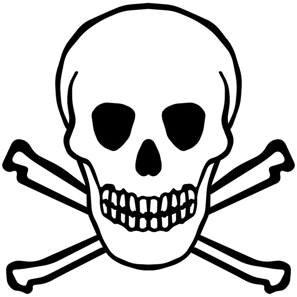 973x973 Skull Clipart Easy