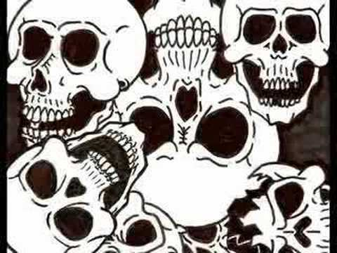 480x360 Skull Collage Drawing