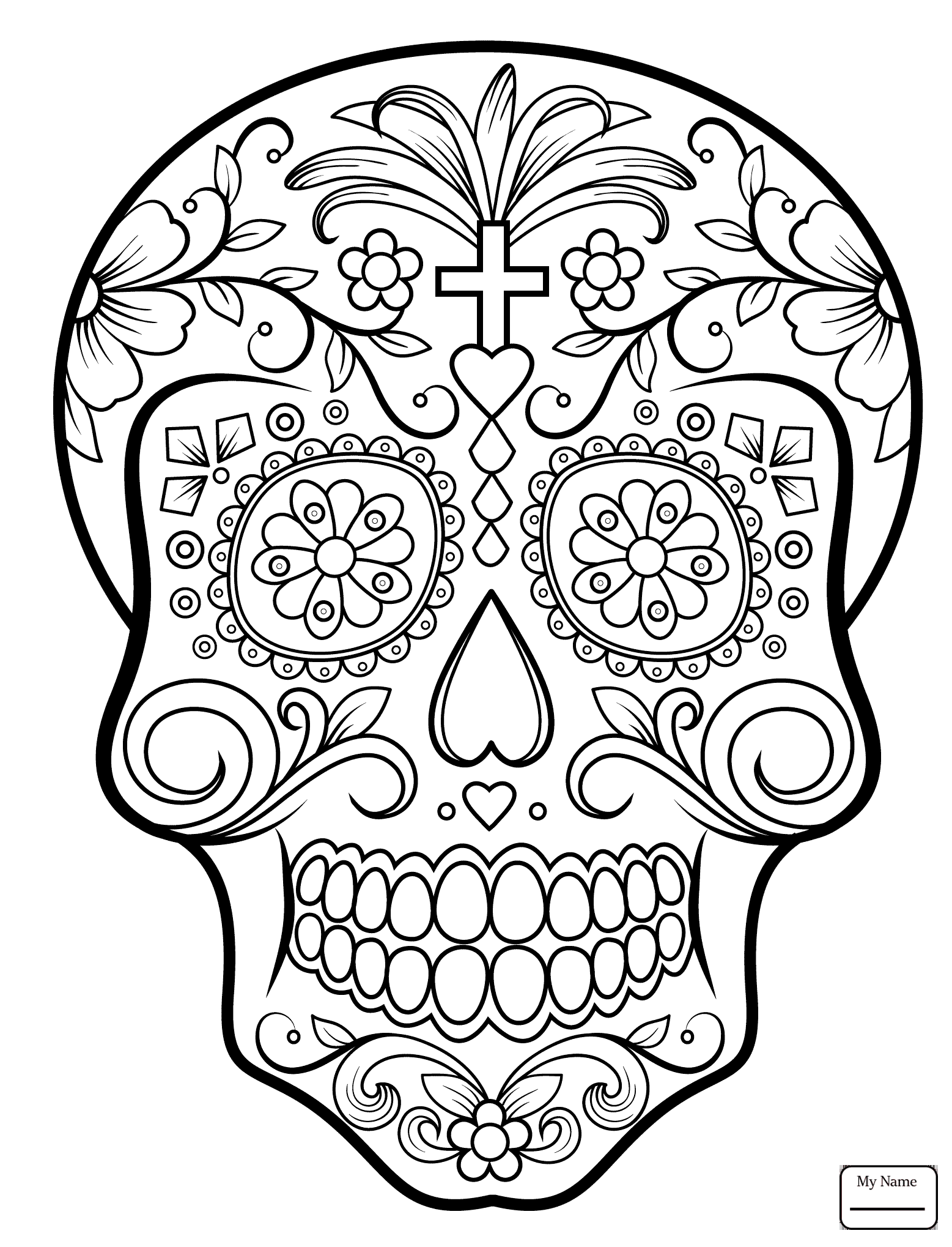 Skulls Step By Step Drawing at GetDrawings | Free download