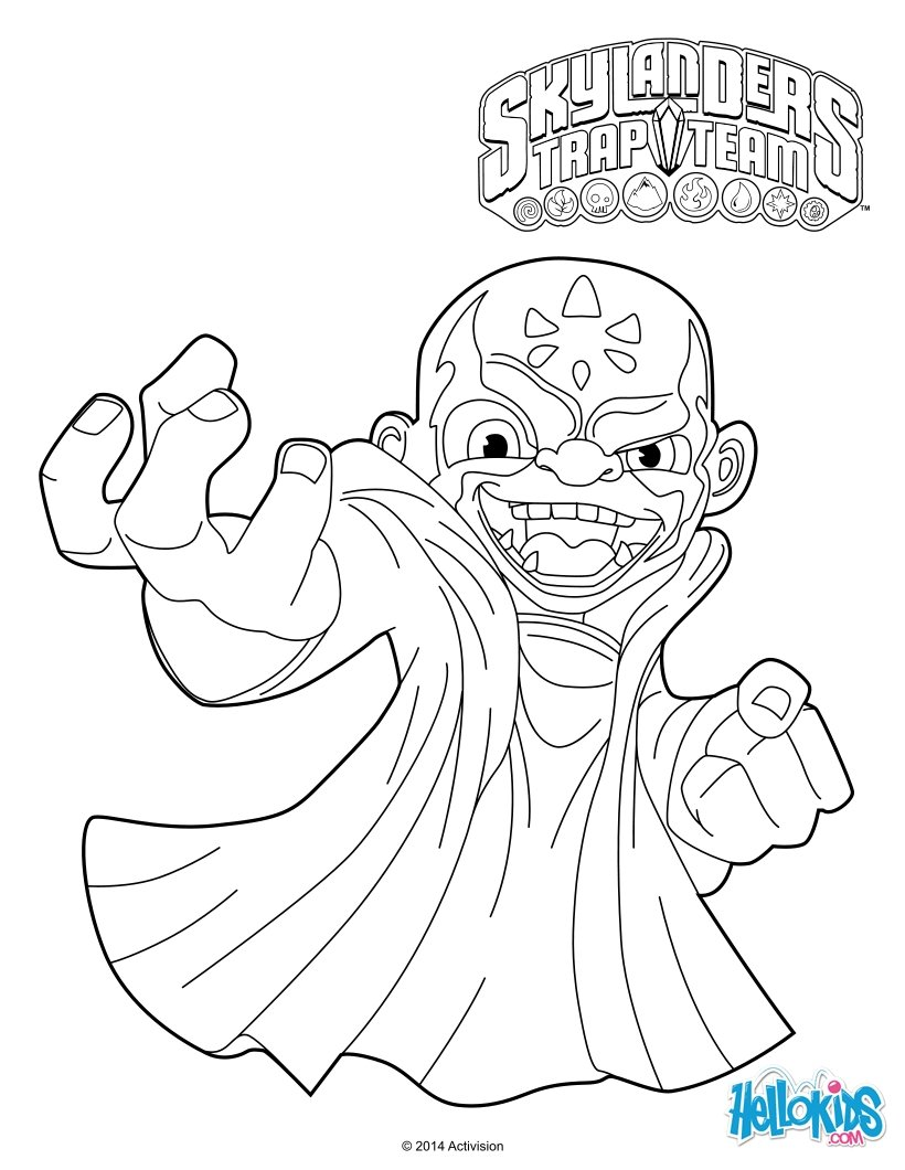 820x1060 Kaos Coloring Pages