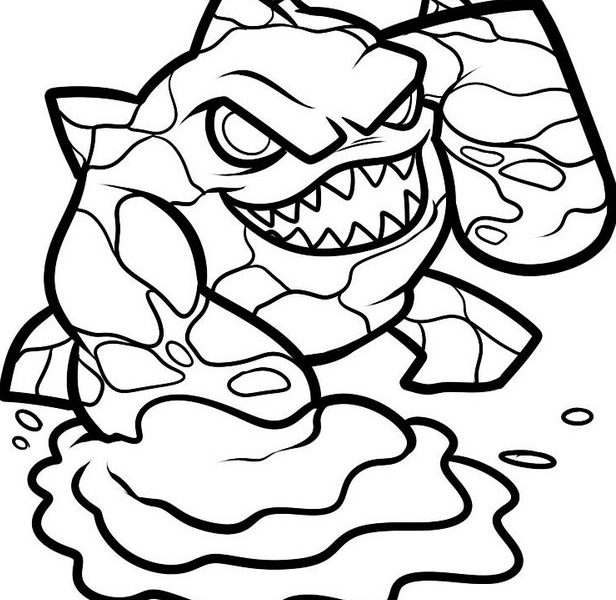 616x600 Skylander Pictures To Print And Color Coloring Pages Skylanders