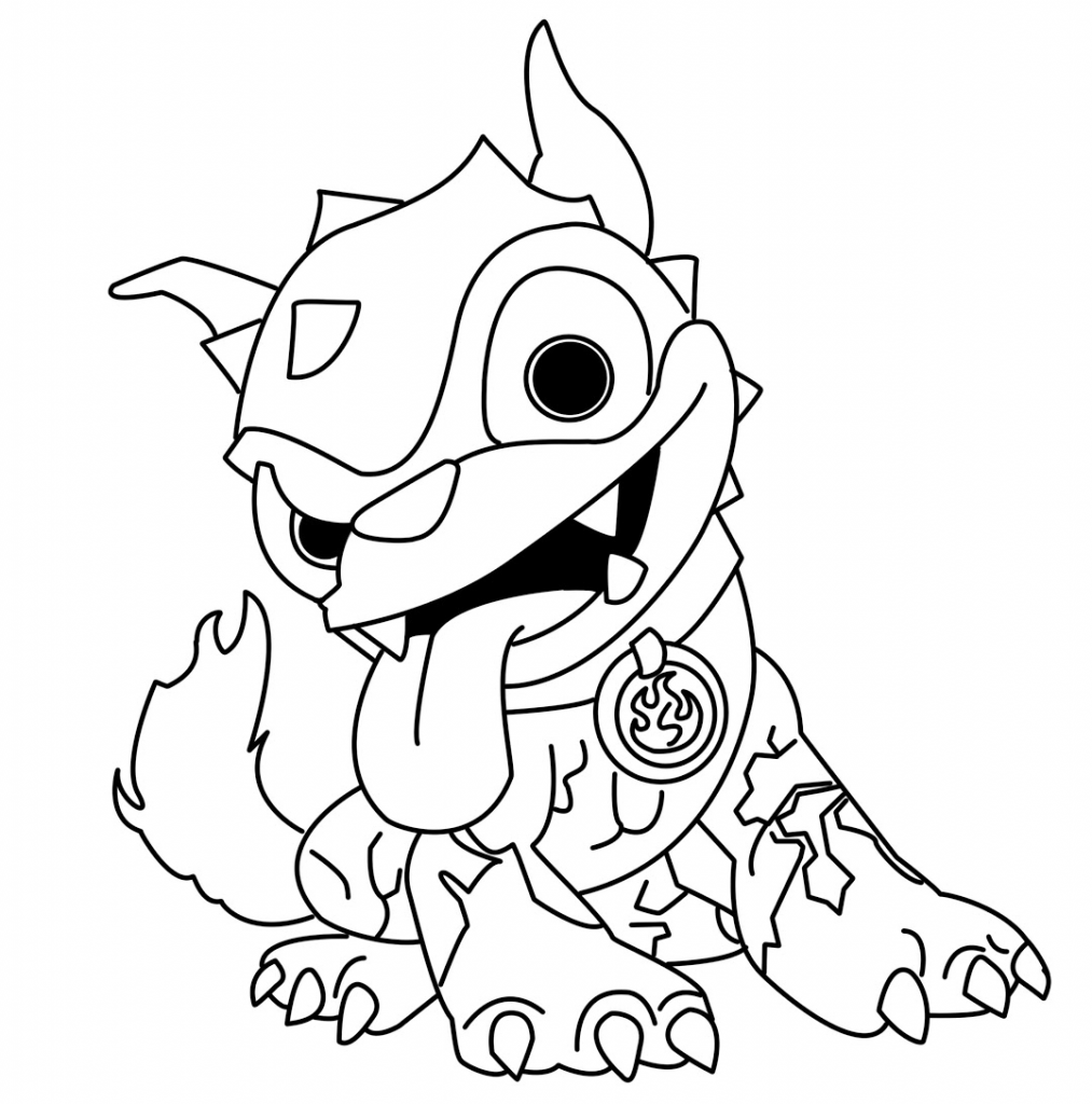 1013x1024 Skylanders Coloring Pages Colouring Caked