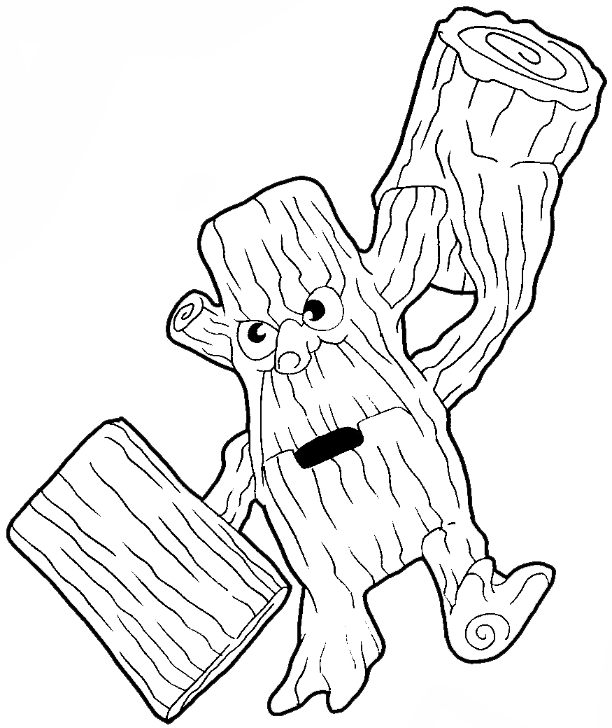 875x1040 How To Draw Stump Smash From The Game Skylanders With Easy Step By