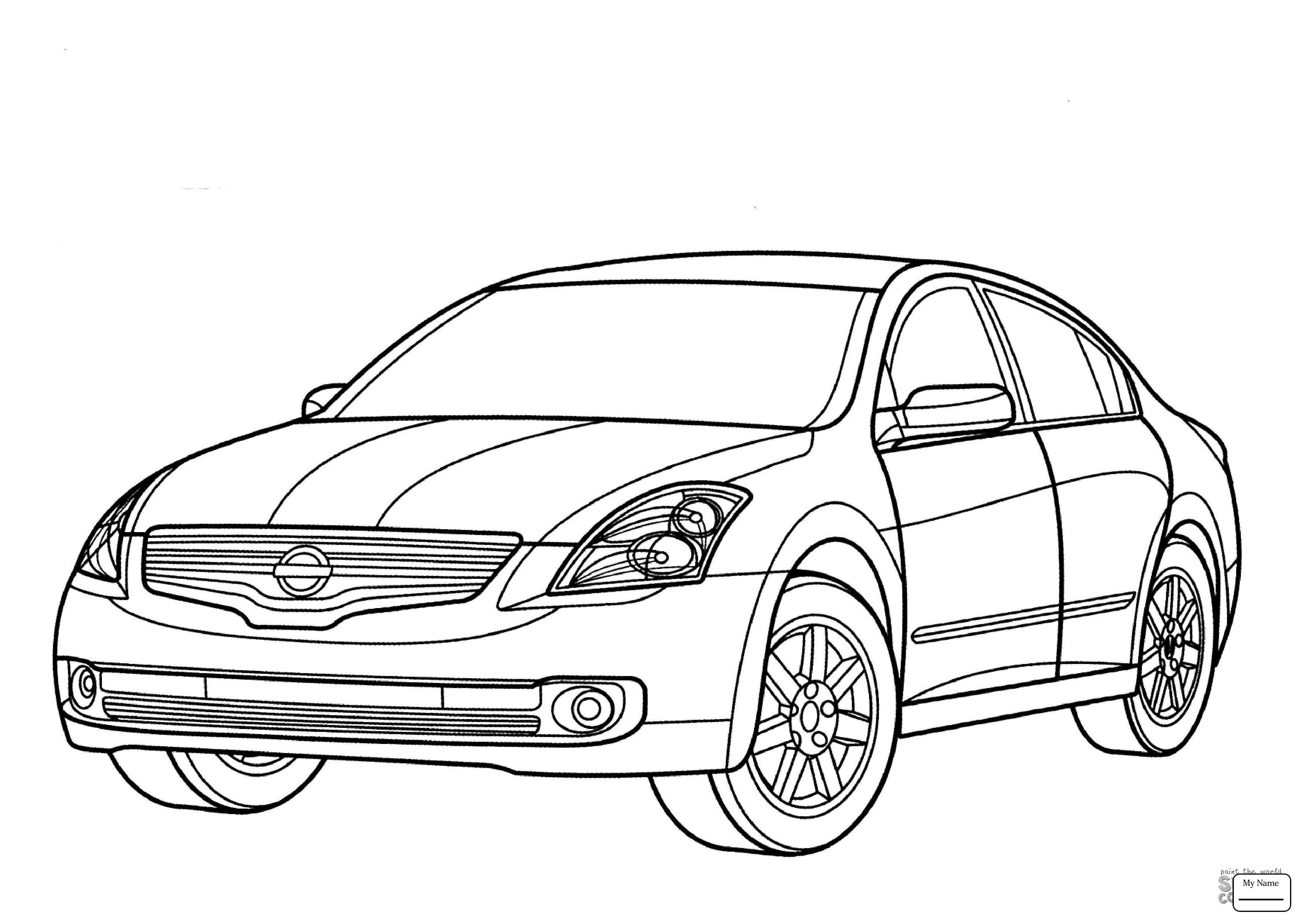 nissan gtr nismo coloring pages | Skyline Car Drawing at GetDrawings.com | Free for personal ...