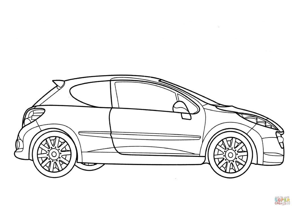 Skyline Car Drawing At Getdrawings Com