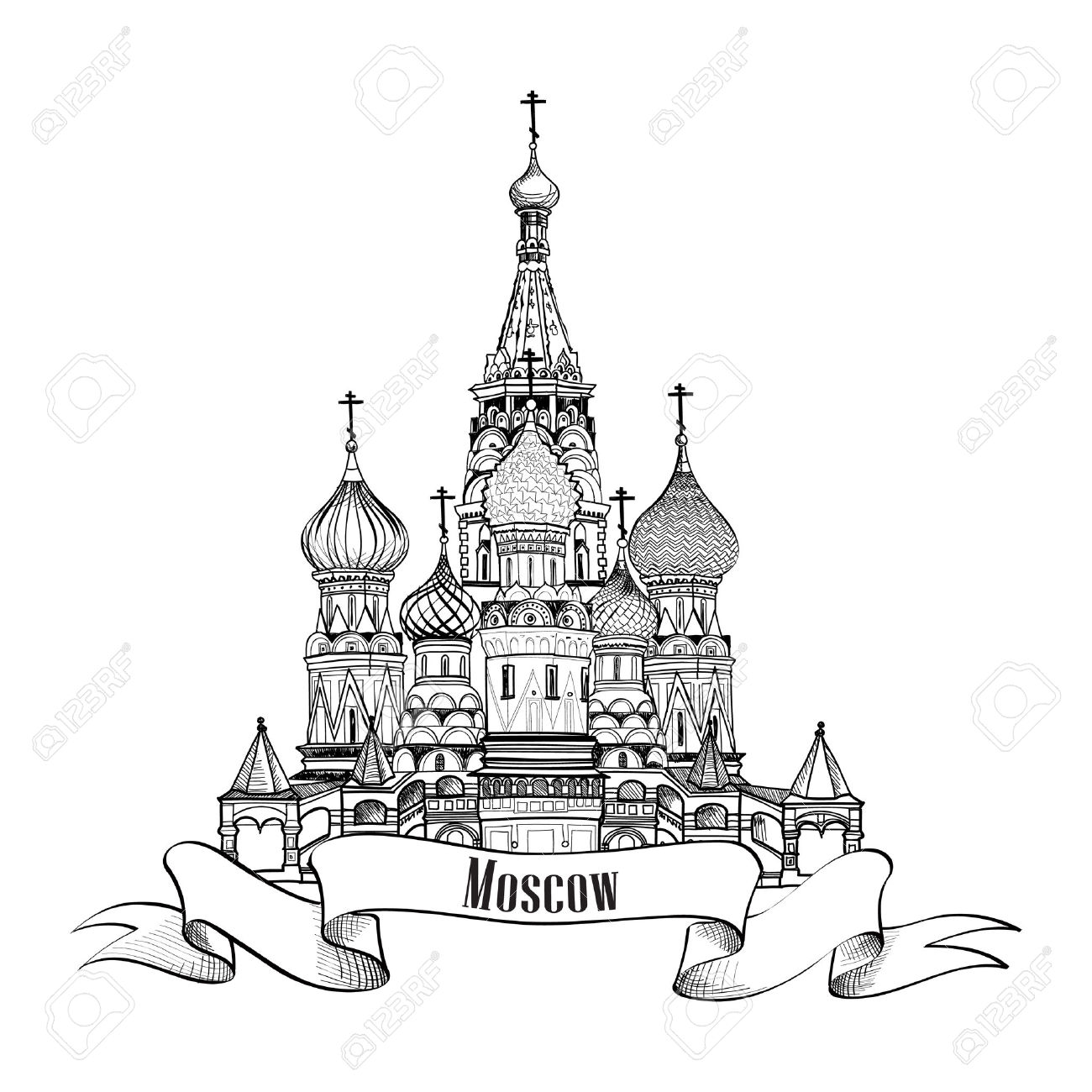 1300x1300 26495210 Moscow City S Mbolo St Basil Cathedral Plaza Roja Rusia