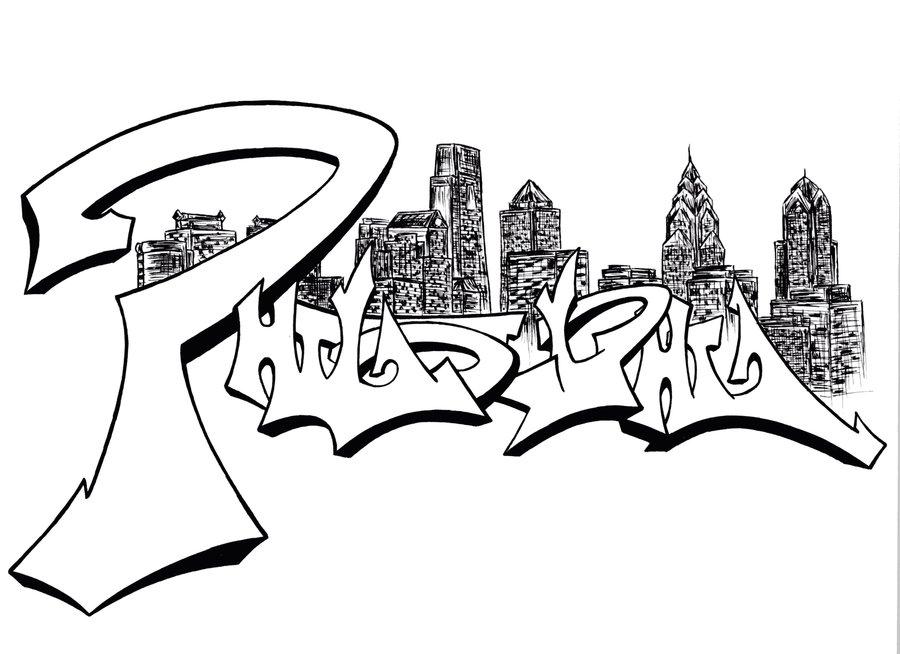900x654 Philly Skyline By Exxodusrising