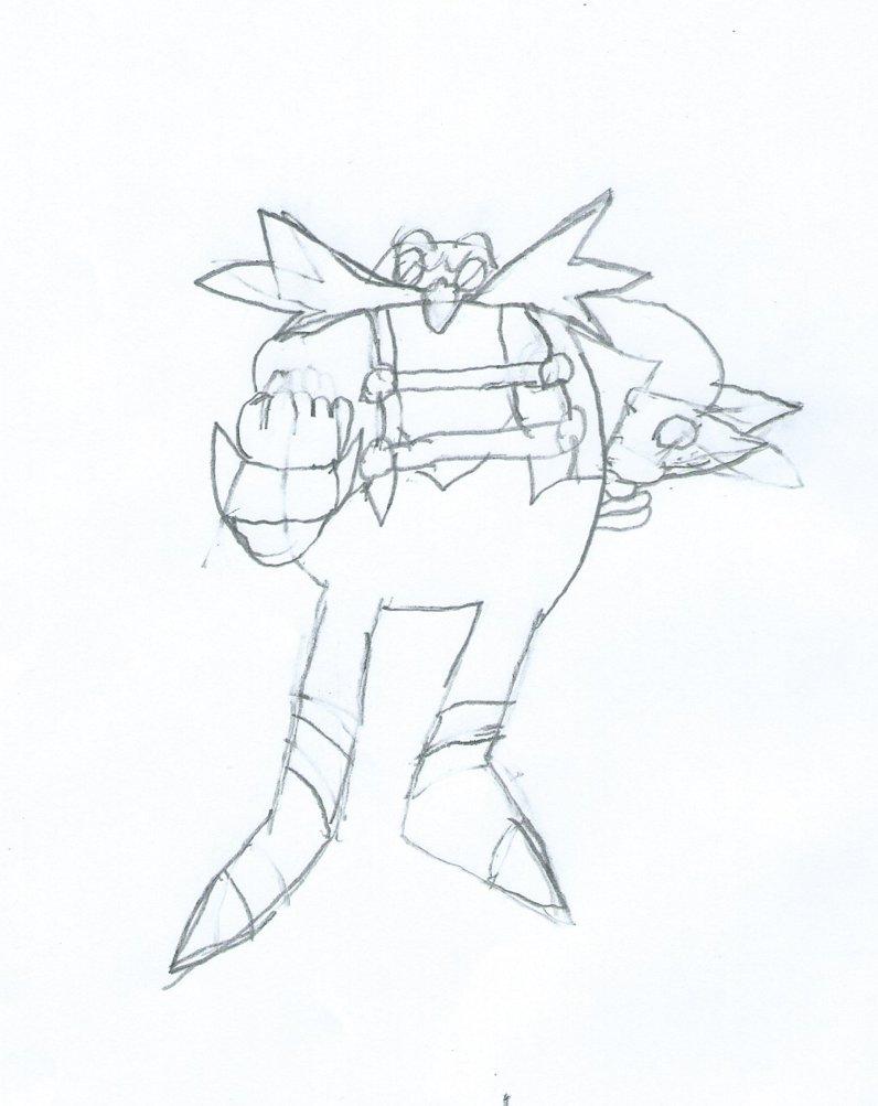 796x1003 Sonic Skyline Eggman Sketch By Jackthecat779