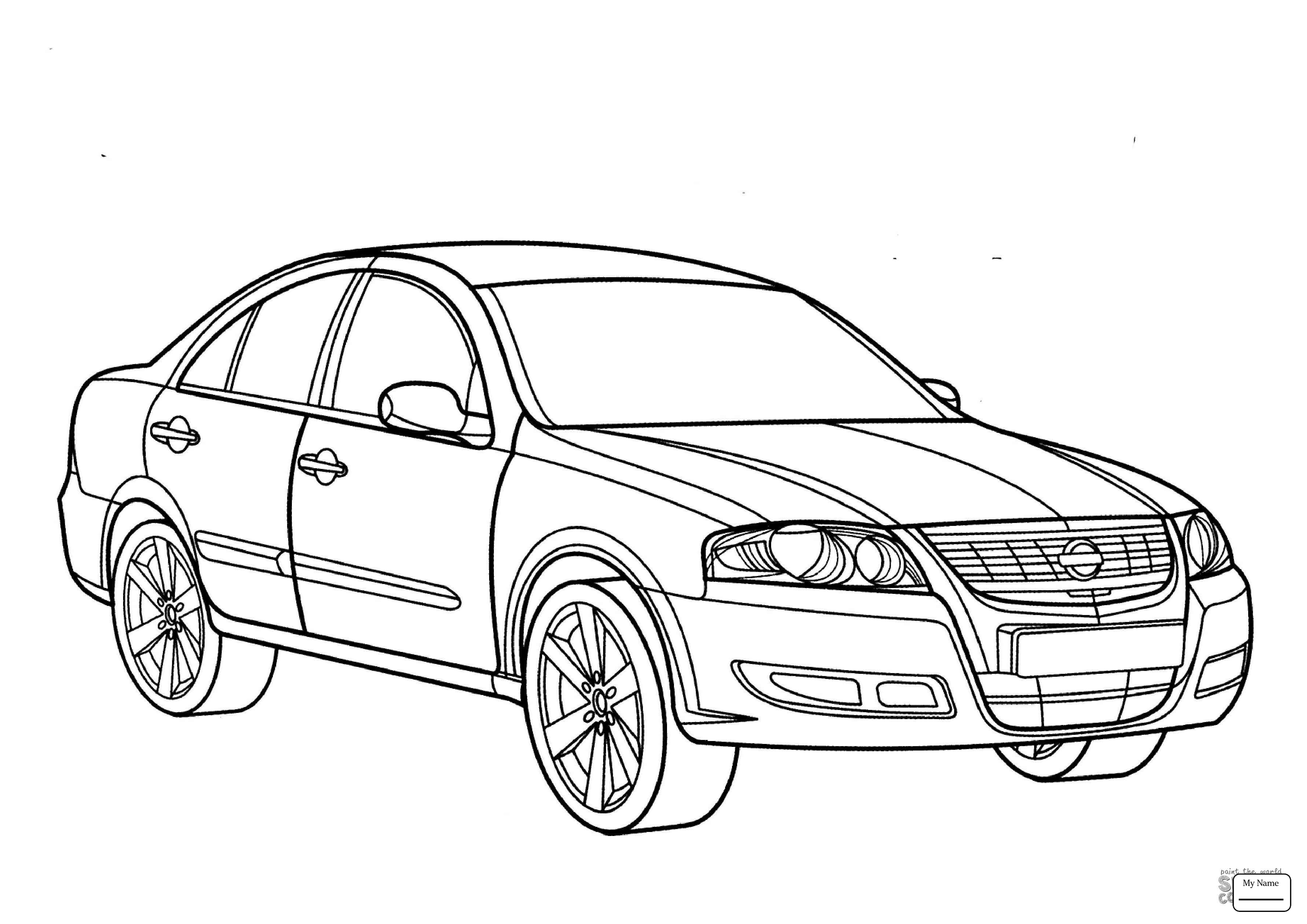 3578x2530 Coloring Pages For Kids Transport Nissan 370z Nissan