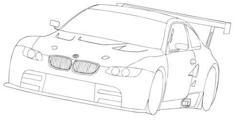 480x247 How To Draw Nissan Gtr 35 In Awesome Coloring Pages Draw A Toad