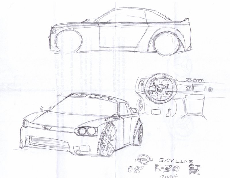 800x620 Nissan R30 Gtr By Loulew