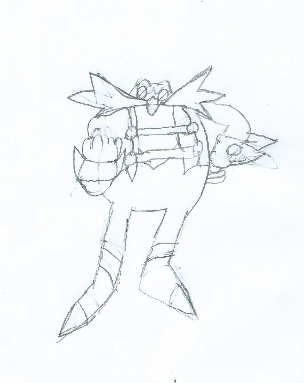 1005x1266 Sonic Skyline Eggman Sketch By Jackthecat779