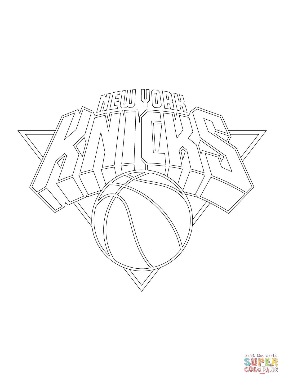 1200x1600 Coloring Basketball New York New York City