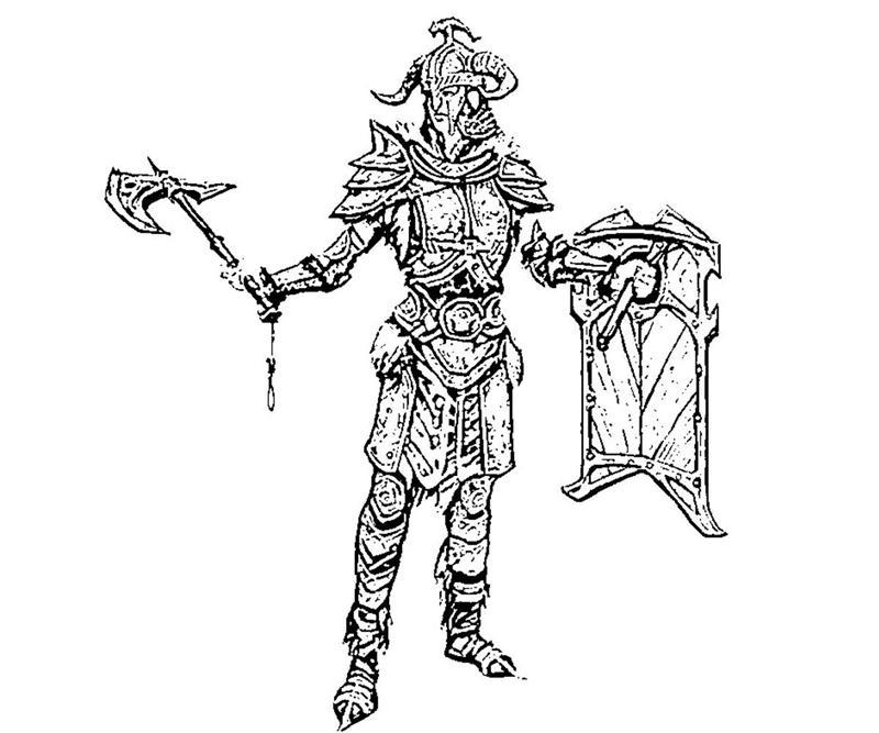 Skyrim Daedric Armor Drawing at GetDrawings.com | Free for ...