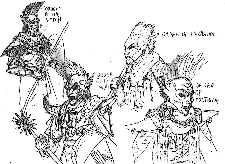 Skyrim Daedric Armor Drawing at GetDrawings com | Free for