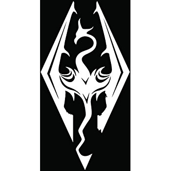 Skyrim Logo Drawing At Getdrawings Free For Personal Use