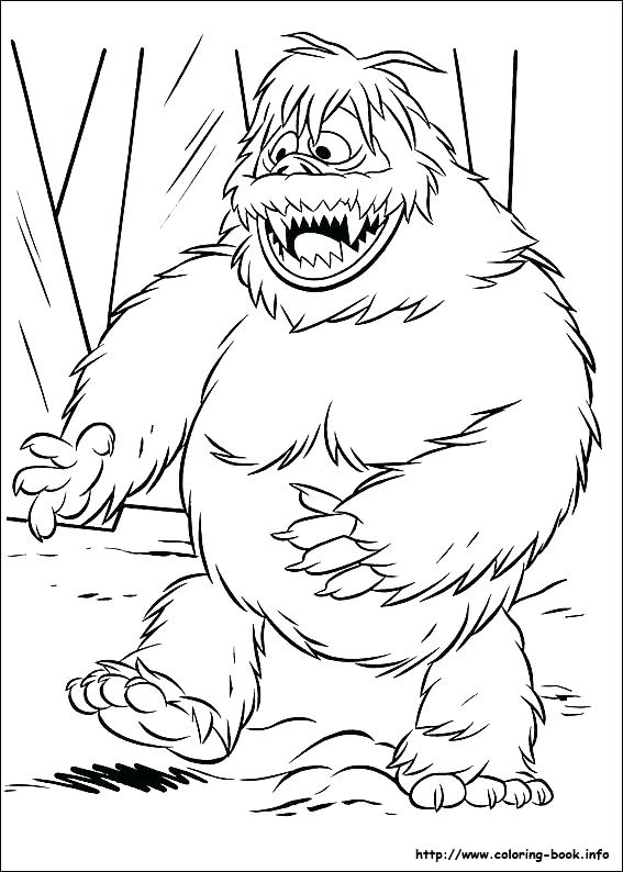 567x794 Surprising Goosebumps New Yeti Coloring Pages Free Printable