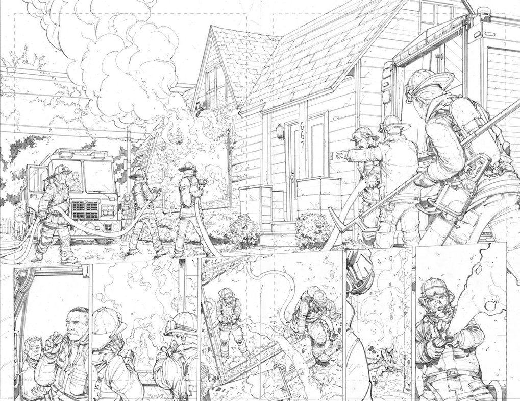 1019x785 Slash And Burn Double Page Spread By Max Dunbar