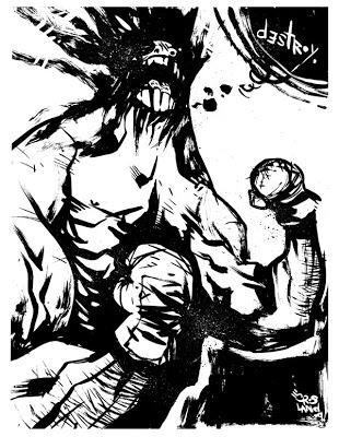 310x400 Dave Crosland's On The Slate Sketch 66 Destroy