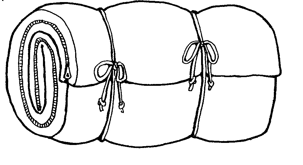 sleeping bag drawing at getdrawings com free for personal use rh getdrawings com sleeping bag clip art free