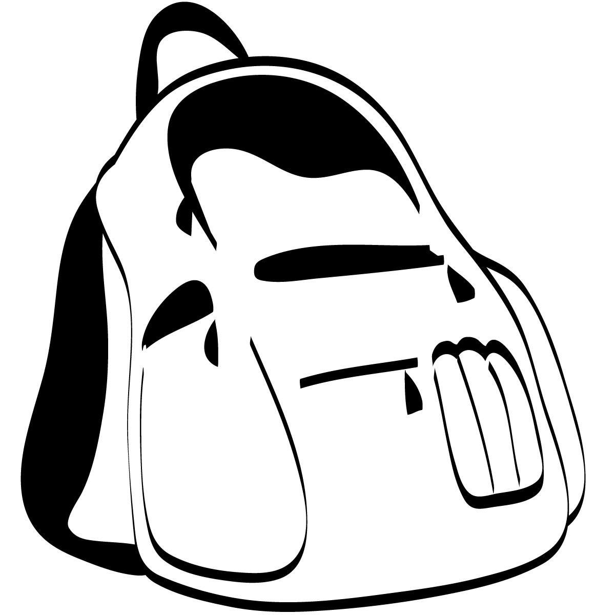 1200x1200 Sleeping Bag Clipart Black And White Clipart Panda
