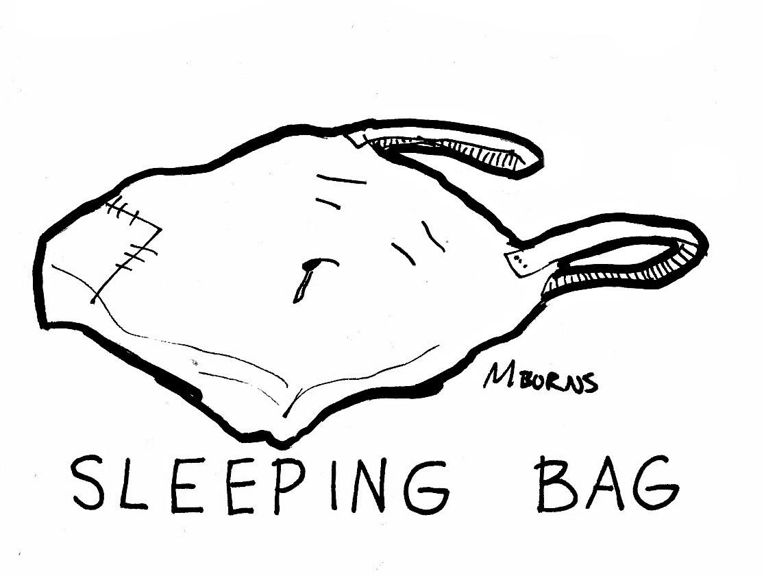 1115x840 Comic Strip By Mike Burns Sleeping Bag, Club Sandwich, Double