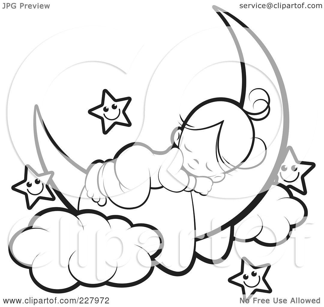1080x1024 Sleeping Bear Coloring Page