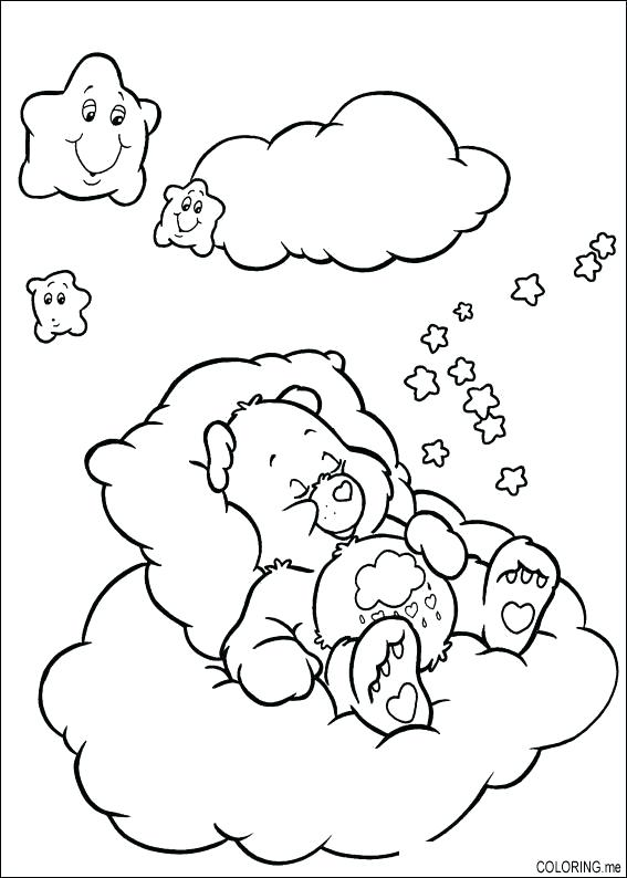 567x794 Sleeping Bear Coloring Page Synthesis.site