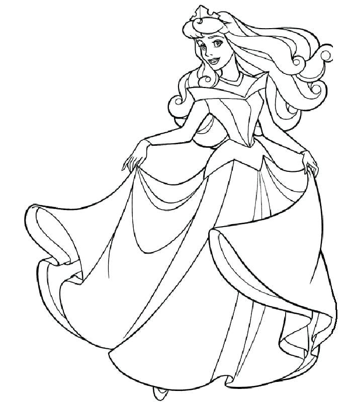 700x800 Coloring Pages Sleeping Beauty Unique Sleeping Beauty Coloring