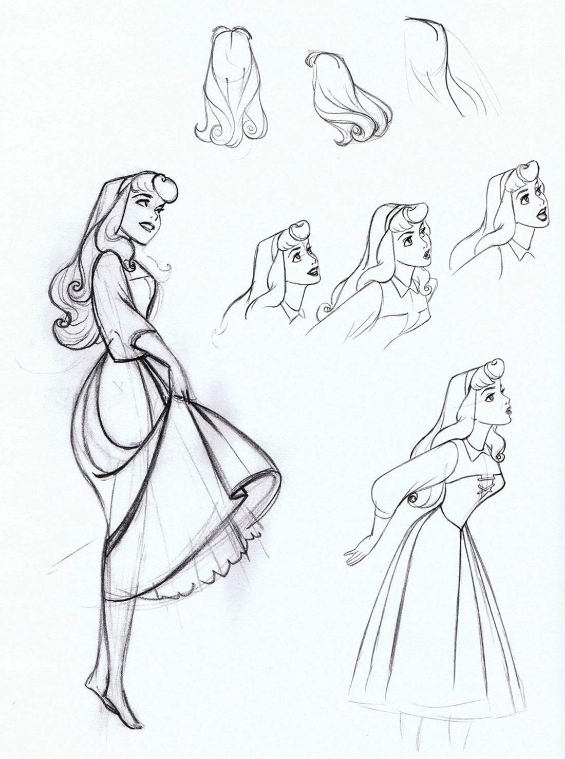 1100x1477 Aurora (Disney) Sleeping Beauty 1959, Drawings And Character