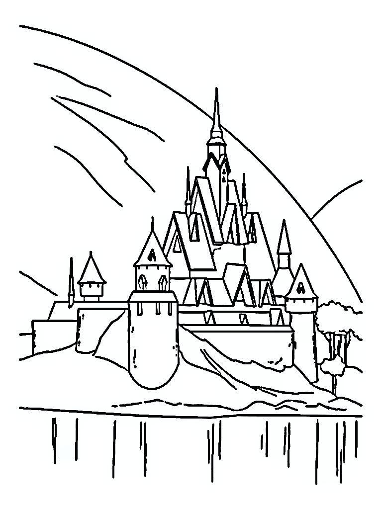 768x1024 Coloring Coloring Castles Heather Seasonal Illustration Trick