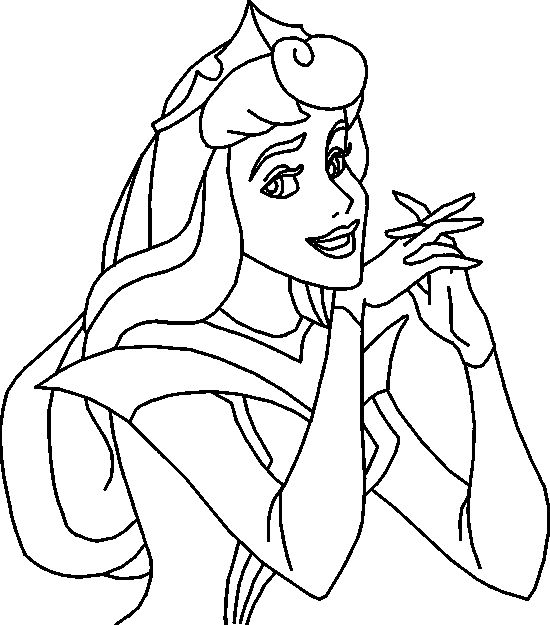 Sleeping Beauty Drawing