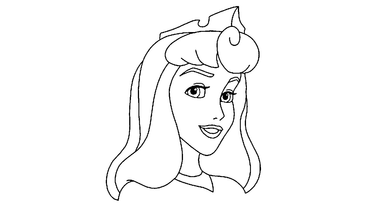 1280x720 How To Draw Aurorariar Rose From Sleeping Beauty