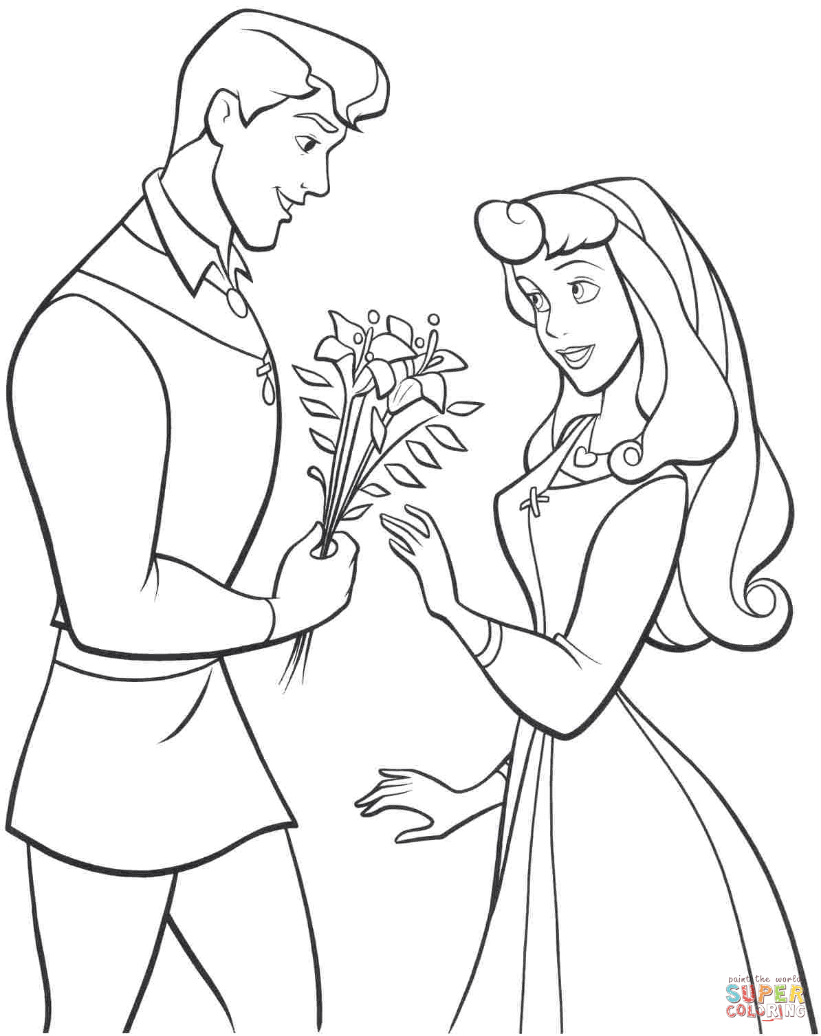 1194x1507 Sleeping Beauty Coloring Pages Free Coloring Pages