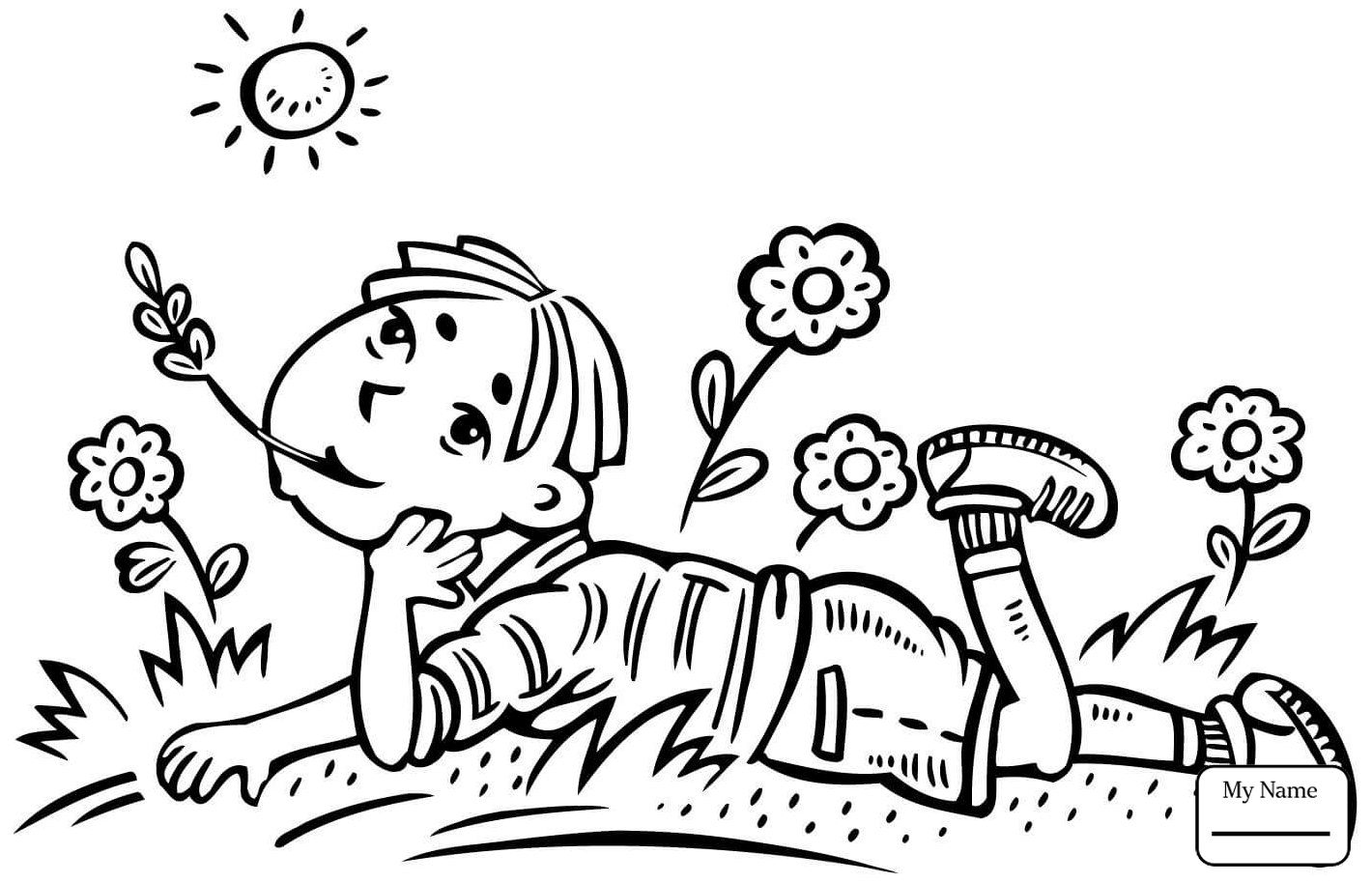 1420x914 Coloring Pages For Kids Boy Drawing Pictures On Wall People Boys