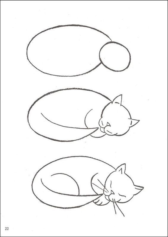 564x792 How To Draw Cats